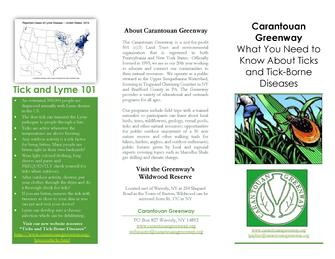 What You Need to Know About Ticks and Tick-Borne Diseases Brochure