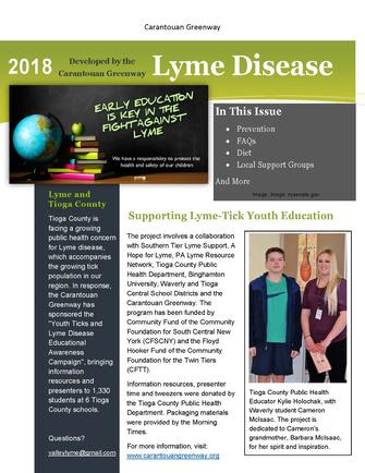 Youth Lyme-Tick Educational Awareness